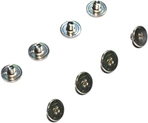 Zahara 8pcs Screws Replacement for HP Pavilion 15-CX Series LCD Hinges to Back Cover Rear Lid