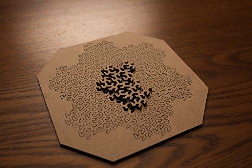 14 Piece Lasercut Fractal Jigsaw Puzzle Import It All