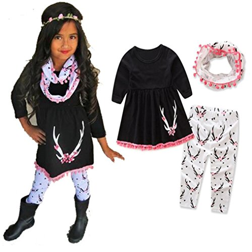 hot-sale1-5-years-old-baby-girls-suit-clothestoddler-deer-print-tops-pants-headband-scarf-outfits-se
