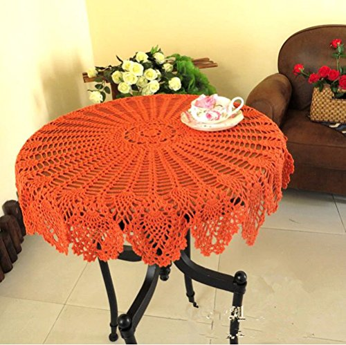 New Tablecloth - USTIDE New Orange 31.5