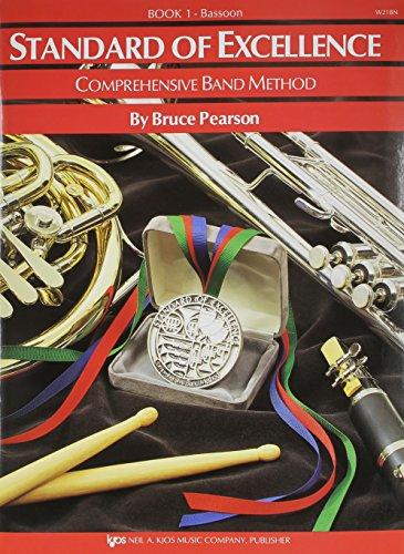 Bassoon Music 1 Book (W21BN - Standard of Excellence Book 1 – Bassoon)
