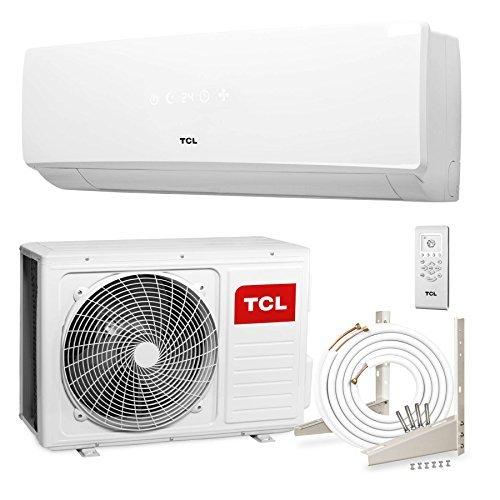 3.5 kW, 4m Leitungen, Halter, bis -15/°C, Goldbeschichtung TCL KA 12000 BTU Split-Klimaanlage A++