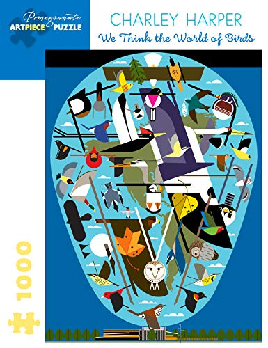 Charley Harper: The World of Birds 1000-Piece Jigsaw Puzzle