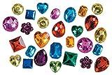 Darice 1075-20C Big Bling Shapes Gem Value Pack Rhinestones, Multicolor