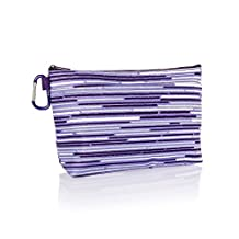 Thirty One Cool Clip Thermal Pouch in Geo Stripe - No Monogram - 8256