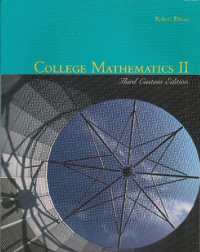 College Mathematics II