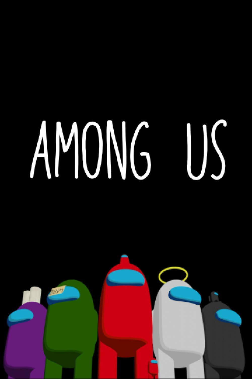 Among Us: Lined Notebook / Journal / Diary Gift, 120 Blank Pages, 6x9 Inches, Matte Finish Cover, Great Gift For All Gaming And Anime Fans For Kids And Adults