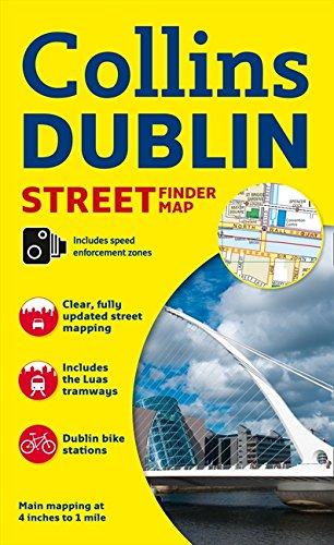 Download Collins Dublin Street Finder Map (Collins Travel Guides) ebook