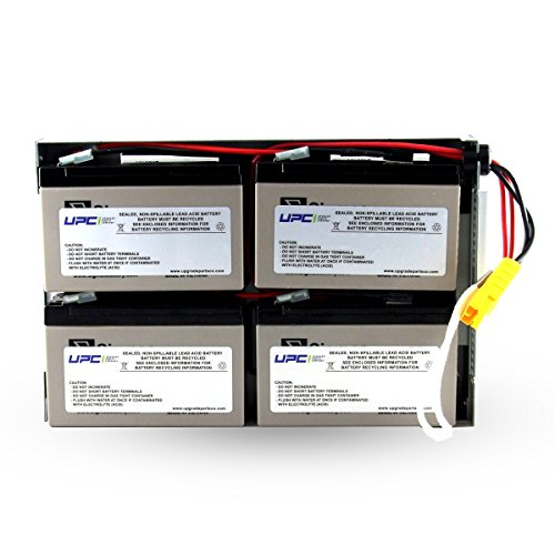 UPC RBC24 Replacement Battery Cartridge by UPC