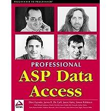 Professional ASP Data Access by James De Carli (2000-10-03)