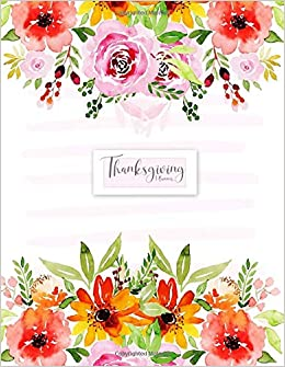 Thanksgiving Planner: Weekly & Monthly Agenda Journal and ...