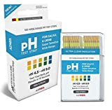 100Ct. Crucial Popular pH Indicator Test Strips Urine and Saliva Sensitive Check Alkaline and Acid with Color Chart