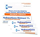 Best Hydrocortisone Creams - 3 PACK Hydrocortisone Maximum Strength Ointment 1%, USP Review