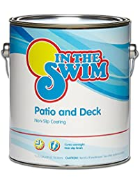 In The Swim Patio And Deck Paint Sand   1 Gallon