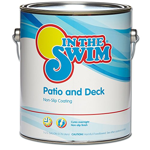 In The Swim Patio and Deck Paint White - 1 Gallon
