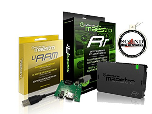 iDatalink Maestro ADS-MRR Steering Wheel Control Interface w/ USB Port URam Port Adapter and a FREE SOTS Air Freshener