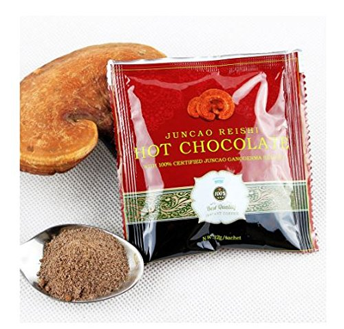 2 Box Hot Chocolate Organo Healthy and Delicious with Certified Ganoderma Reishi Mushroom Extract 15 Sachets (2 Boxes)