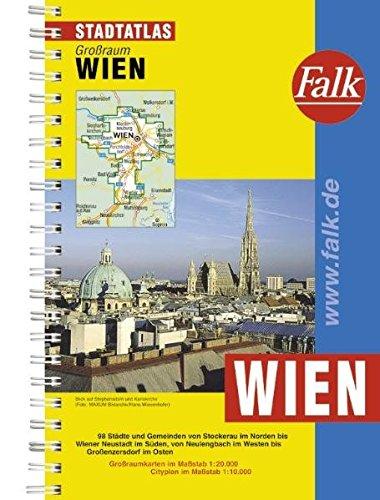 Falk Stadtatlas Großraum Wien