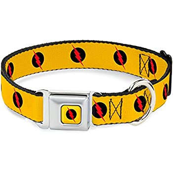 Superhero Seatbelt Buckle Dog Collar