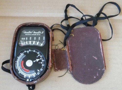 Vintage Weston Master II Universal Exposure Meter - Model 735 - Item is untested