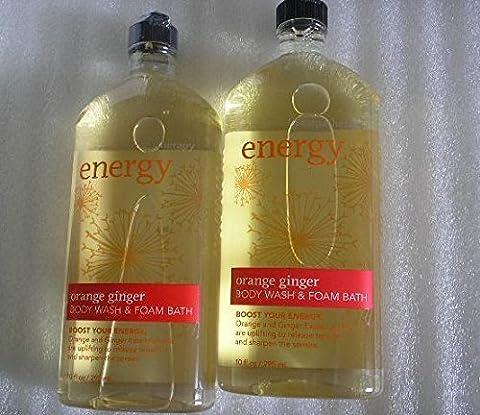 Lot of 2 Bath &Body Works Orange Ginger Body Wash & FOAM BATH 10oz. by N/A