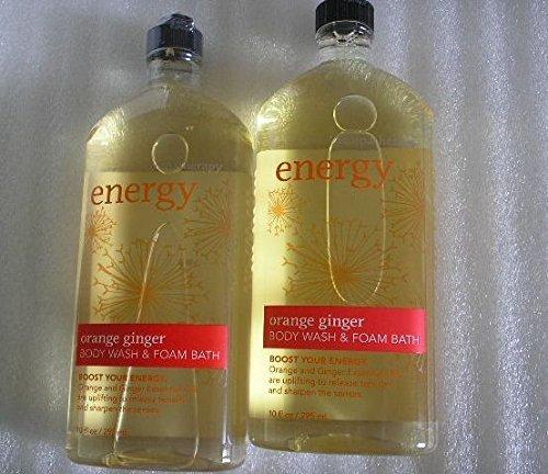 Lot of 2 Bath &Body Works Orange Ginger Body Wash & FOAM BATH 10oz. by ()