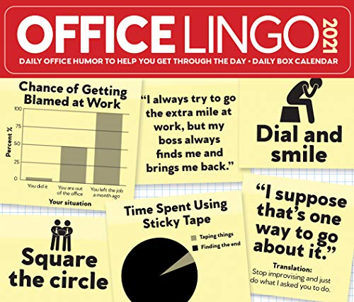 Office Lingo 2021 Box Calendar