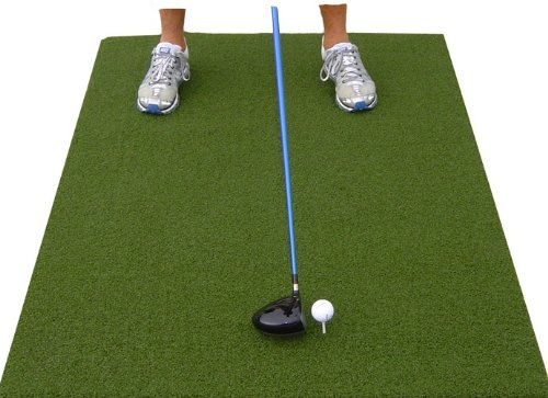 "36"" X 60"" XL Super Tee Golf Mat - Holds A Wooden Tee"