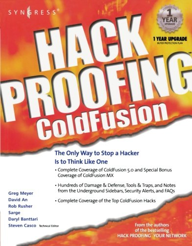Hack Proofing ColdFusion by Brand: Syngress