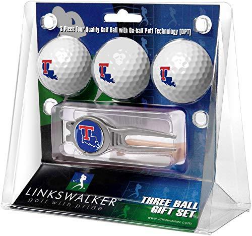 NCAA Louisiana Tech Bulldogs - Kool Tool 3 Ball Gift Pack