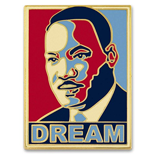PinMart's Dr. Martin Luther King Jr. MLK Dream Enamel Lapel Pin big discount
