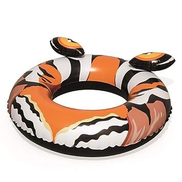 FBEST Rueda Hinchable Donut de Tigre 91 cm: Amazon.es ...