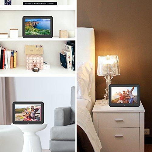 Digital Picture Frame, HP 10.1 inch WiFi Photo Frame, 1280x800 HD ...