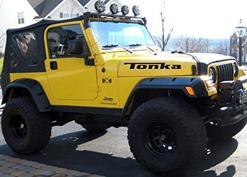Jeep TJ Sportdecal sticker Set for TJ 6 decals