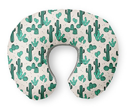 "ORGANIC Boppy Nursing Pillow Cover in ""Cactus"""