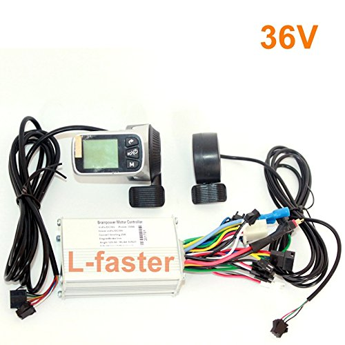L-faster New Arrival 250W 350W Electric Bicycle Brushless Motor Controller With Wuxing Thumb Throttle LCD display And EBS Brake (36V with EBS)