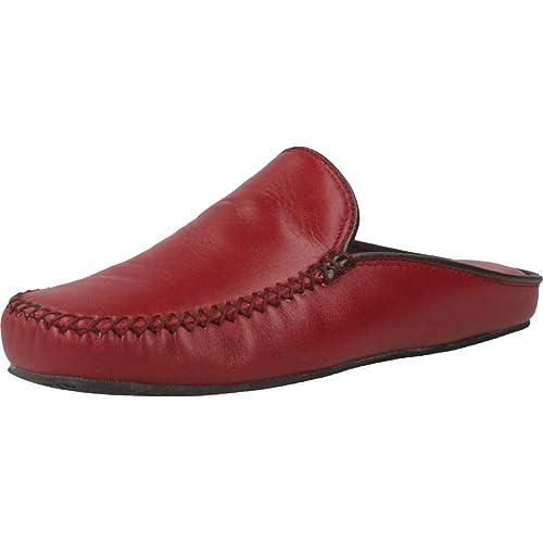 comprar online c0ac0 bb67a Zapatillas de Estar por casa de Mujer, Color Rojo, Marca VULLADI, Modelo  Zapatillas De Estar por Casa De Mujer VULLADI 1951 078 Rojo