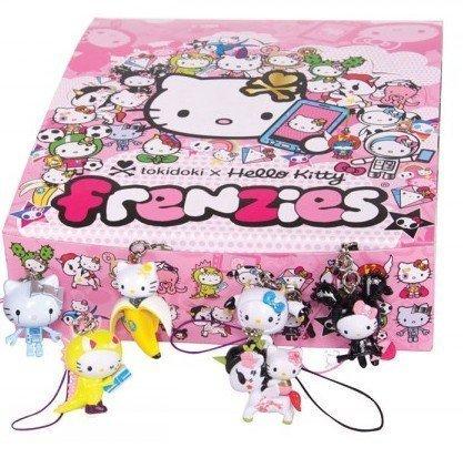 Kitty Hello Telephone (Tokidoki x Hello Kitty Frenzies Phone Charm Phonezie Full Display Case of 30 Blind Boxes by Tokidoki)
