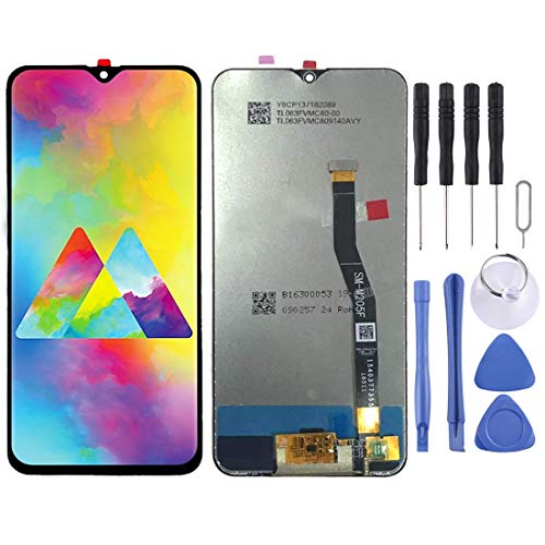 LCDSCREENEPLACEGALAXY LCD Screen Replacement for Samsung Galaxy LCD Screen and Digitizer Full Assembly for Galaxy M20 (Black) (Color : Black)