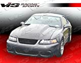 4 cowl induction hood - VIS Racing 99-04 Ford Mustang Cowl Induction Carbon Fiber Hood (99FDMUS2DCI-010C)