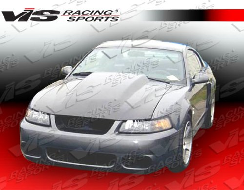 VIS Racing 99-04 Ford Mustang Cowl Induction Carbon Fiber Hood (99FDMUS2DCI-010C) - Mustang Cowl Cover