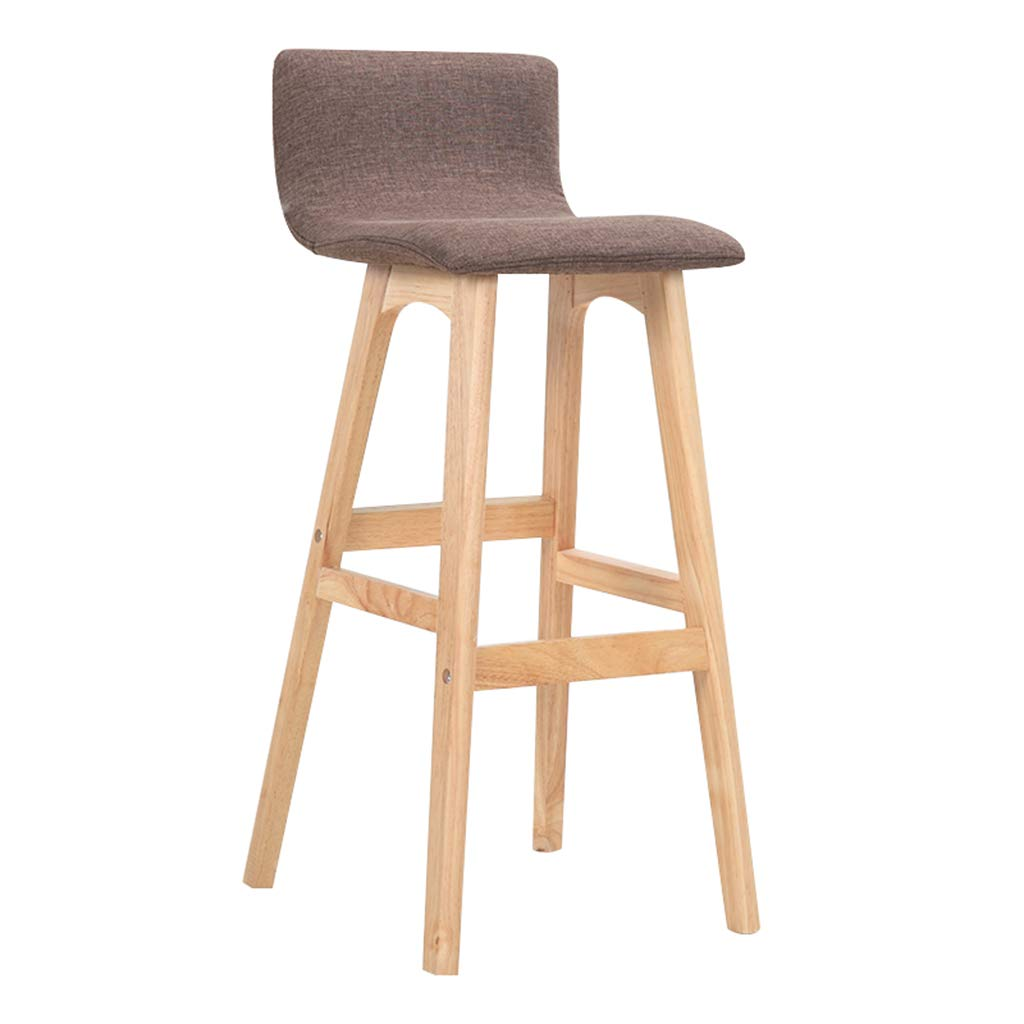 Excellent Amazon Com Barstool Solid Wood Bar Chair Wooden Bar Stool Dailytribune Chair Design For Home Dailytribuneorg
