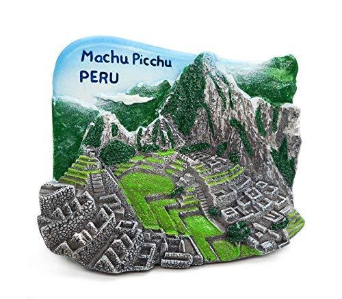 zamonji Machu Picchu, Peru 3D Imanes para Refrigerador Imán de ...