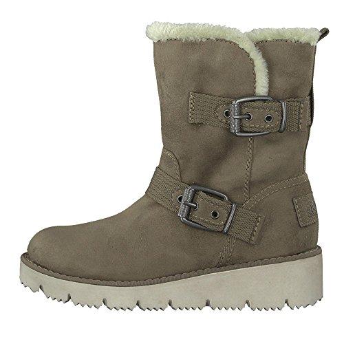 Tamaris Women Trend Slip-on Feet 1-26427-29-324 pepper Beige HmR70W