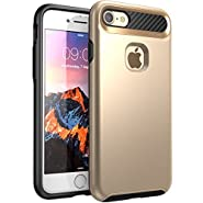 iPhone 7 Case, NexCase Korona [Dual Layer] Apple iPhone 7 Case Cover [Ultra Slim] Armored Hybrid TPU Cover / Hard Outter Shell