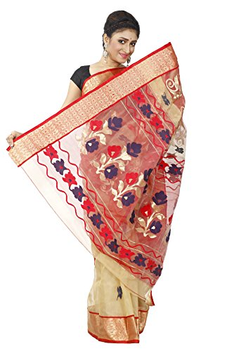 B3Fashion-Indian-Handloom-Traditional-Ethnic-Bengal-Pure-Tussar-Silk-Saree