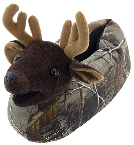 Realtree Mens Camo Deer Slippers product image