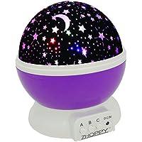 Night Light for Kids, ZHOPPY Star and Moon Starlight...
