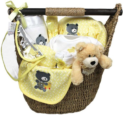 Raindrops Welcome Home 13-Piece Gift Set, Yellow, 3-6 Months