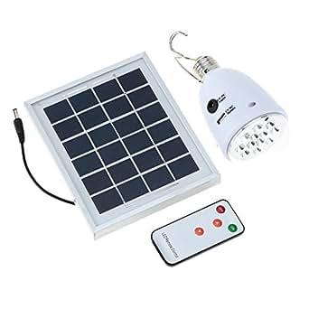 lixada led luz l mpara con panel solar de ac dc